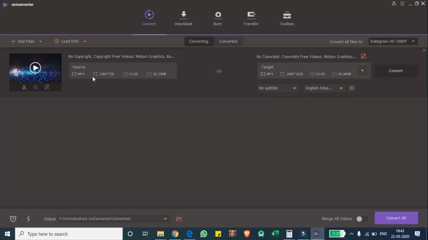 Wondershare UniConvertor Review 2020