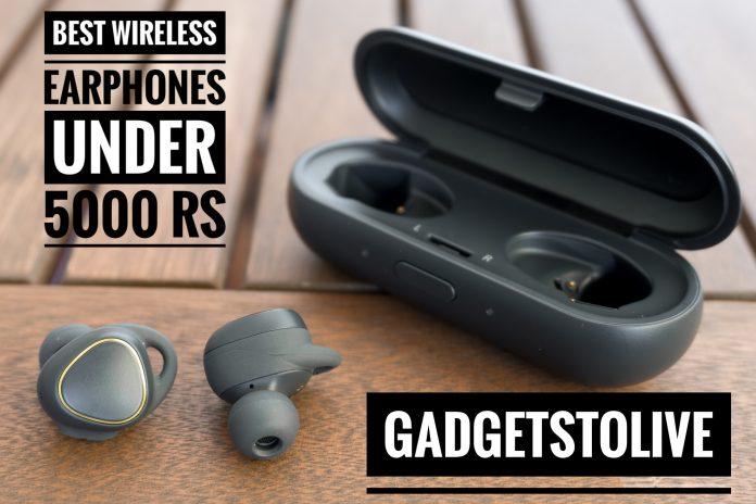 Best wireless earphones under 5000 Rs in India