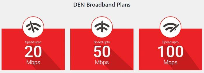 Den Broadband plans 2020