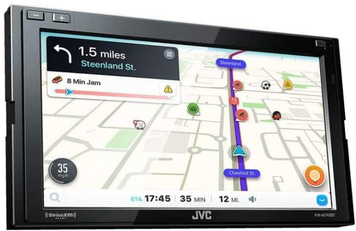 best touch screen car stereo with Bluetooth.