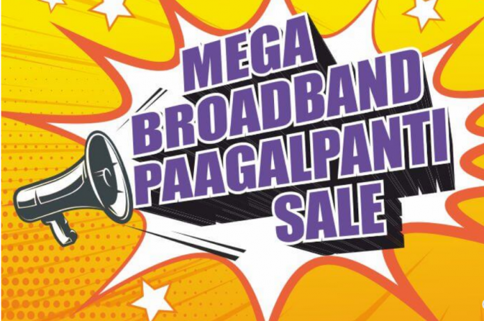 Mega Broadband Pagalpanti Sale