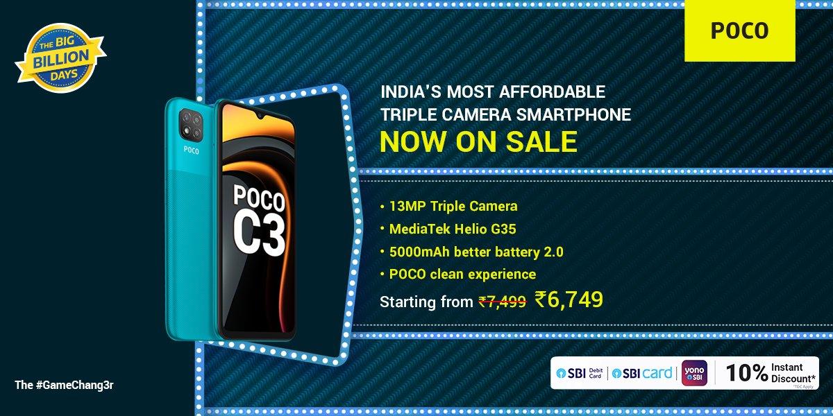 POCO India : POCO C3